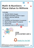 SAMPLE Math 4 - Numbers - Lesson 1 - Place Value to Millions