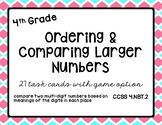 Math - 4th Grade Ordering & Comparing Larger Numbers