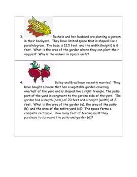Math-5th Grade: Challenge Geometry & Measurement Problem Solving