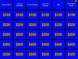 Math 6 & 7 Review Game Jeopardy SOL Remediation with Sound