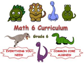 6th Grade Math Curriculum (Common Core) Bundle (Complete)