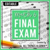 Math 6 Final Exam