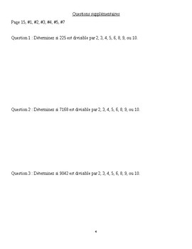 Math 6 French 1.2