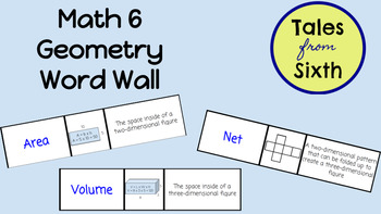 Math 6 - Geometry Word Wall