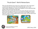 Math 6 SOL Puzzle Game Review Part 2 Middle School fun! Ta