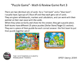 Math 6 SOL Remediation Puzzle Game PART 3 Review Middle Sc