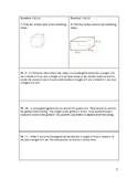 Math 6th Grade Spiral Review: Geometry