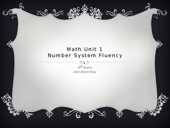 Math 6th Unit 1