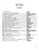 Math 7 & 8 Vocabulary Quizzes