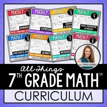 Math 7 Curriculum