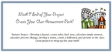 Math 7 End of Year Amusement Park Project