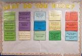 Math 7 Flashcard Notes and Word Wall (VA SOL 2016)