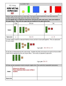 Math 7 Unit Bundle: Expressions