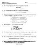 Math 7 Quiz 17