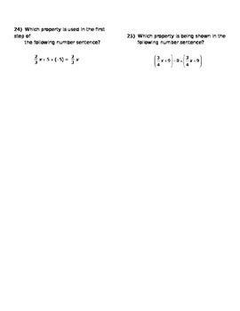 Math 7 Quiz 3