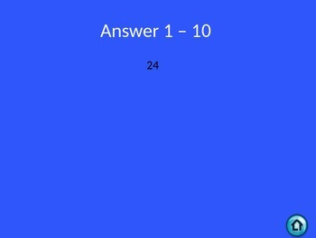 Math 7 Review: Jeopardy