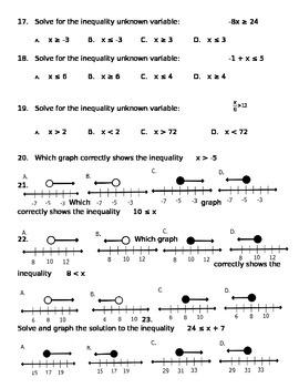 Math 7 Test 5