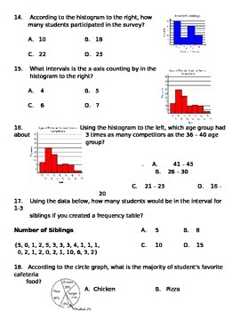Math 7 Test 9