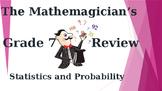 Math 7 - Unit 4 Review Game -Statistics & Probability