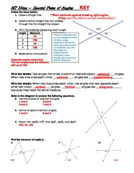 Math 7 Unit Bundle: Angles and Triangles (Geometry)