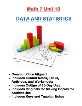 Math 7 Unit Bundle: Data and Statistics