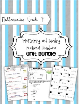 Math 7: Multiplying and Dividing Rational Numbers