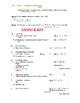 BACK TO SCHOOL Math 7Honors - Topics on Test - INTEGERS (Unit 1)