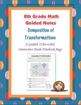 Math 8 Guided Interactive Math Notebook Page: Composition
