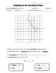 Math 8 Guided Interactive Math Notebook Page: The Coordinate Plane