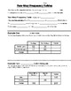 Math 8 Guided Interactive Math Notebook Page: Two-way Frequency Tables