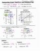 Math 8 Guided Interactive Math Notebook Page: Comparing Li