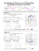 Math 8 Guided Interactive Math Notebook Pages: Pythagorean Theorem & Distance