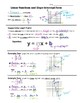 Math 8 Guided Interactive Math Notebook Pages: Slope-inter