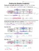 Math 8 Guided Interactive Math Notebook Pages: Two-way Tables/Relative Frequency