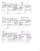 Math 8 Quizzes