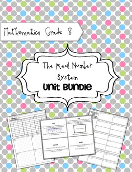 Math 8: Real Number System Unit Bundle