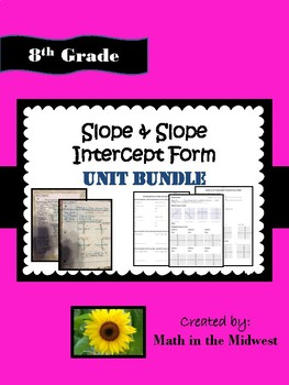 8th Grade Second Semester Bundle {Math 8 Units - Curriculum}