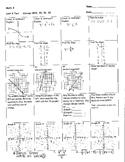 Math 8, Unit 3 Test