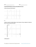 Math: 8th Grade, Proportional Relationships, Lines, and Linear Equations Quizzes