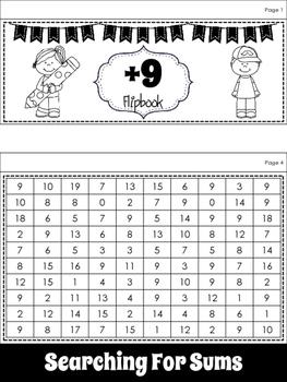 Math:  +9 Flipbook