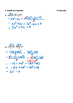 Math 9 Quiz: Multiplying & Dividing Polynomials Quiz with FULL SOLUTIONS