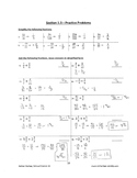 Math 9 - Section 1.3 - Detialed Answer Key