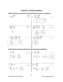 Math 9 - Section 1.4 - Detailed Answer Key