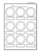 Math- A Telling Time Game