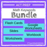 Math ACT Prep Keywords BUNDLE - ACT Math Prep