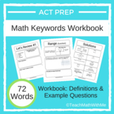 Math ACT Prep Keywords Workbook - Definitions with Example