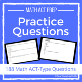 Math ACT Prep Practice Questions - ACT Math Skills