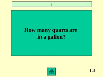 Math AIMS Review 3rd Grade