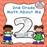 Free First Day of School Activity 2nd Grade Math About Me All About Me Worksheet