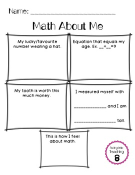 Math About Me